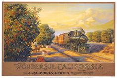 Wonderful Califonia Posters by Kerne Erickson at AllPosters.com