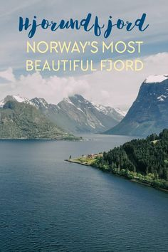 HJORUNDFJORD NORWAY - Many Norwegians consider Hjørundfjorden Norway's most beautiful fjord, and I have to agree! Beautiful Places To Visit, Cool Places To Visit, Northern Lights Norway, Norway Fjords, Run Tour, Alesund, Europe On A Budget, Europe Holidays, Travel Photos