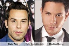 Skylar Astin Totally Looks Like Christian Chavez