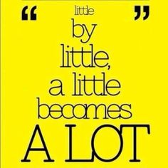 by little, a little becomes a lot Some inspiration and motivation for your fitness goals Motivation (disambiguation) Motivation is the driving force by which humans achieve their goals. Motivation may also refer to: Also: Inspirational Quotes Pictures, Great Quotes, Quotes To Live By, Me Quotes, Motivational Quotes, Baby Quotes, Quotes Images, Toddler Quotes, Family Quotes