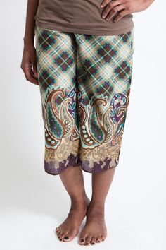 adorable PJ pants made by women rescued from human trafficking in India - tons of great styles, good cause, nice price - I may never get out of bed again!
