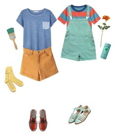 """""""Untitled #1995"""" by momoheart ❤ liked on Polyvore featuring Mini Boden, Crate and Barrel, Topshop and MANGO"""