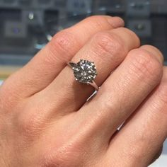Another stunning Diamond! The sparkle is mesmerizing! Custom Jewelry Design, Sparkle, Engagement Rings, Jewels, Diamond, Instagram Posts, Jewelery, Jewelry, Enagement Rings