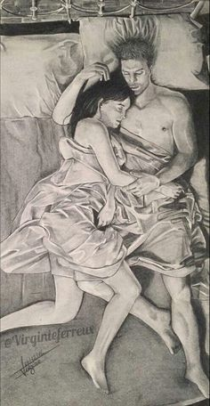 Rirotic Couple Sketch, Couple Drawings, Couple Painting, Couple Art, Cool Sketches, Funny Art, Manga, Illustrations, Erotic Art