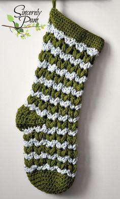 Crochet Christmas Stocking                                                                                                                                                     More