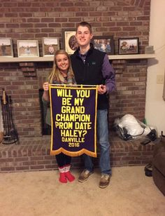 Promposals Stock Show Style! Still looking for ideas on how to ask your date to Prom? Check out this