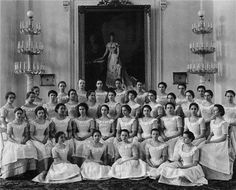 The last graduates of the Smolny Institute before the Revolution of 1917.---    Tsarina Maria's patronage of the Smolny Institute was a most wise and beneficent initiative and it gave rise to similar institutions for young girls of the nobility throughout the Russian Empire, for example, the Institute for Noble Ladies in Kiev, Ukraine.