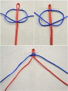 DIY macramé bracelet- Friendship bracelet designs for guys - Bracelet Friendship, Friendship Bracelets Designs, Bracelet Designs, Diy Friendship Bracelets Tutorial, Macrame Bracelet Diy, Bracelet Knots, Bracelet Crafts, Macrame Knots, Diy Bracelets With String
