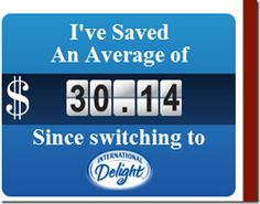 look how much Melanie saved by drinking International Delight #IcedCoffee