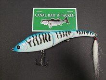 "Canal Stick Shad Translucent White 6/"" 2.25oz Floating"