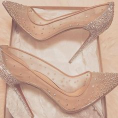 19 Trendy Ideas Wedding Shoes Sandals Heels Cinderella Source by shoes Prom Heels, Wedding Heels, Wedding Shoes Louboutin, Louboutin High Heels, Sparkly Heels, Wedding Boots, Glitter Shoes, Silver Shoes, Cute Shoes