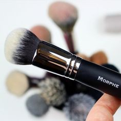 If you've been hunting for a holy grail foundation brush look no further  the M439 buffs and blends out your base perfectly  Shop http://ift.tt/JGfpkI  @laurzrah #morphebrushes by morphebrushes