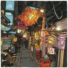 https://www.behance.net/gallery/37868159/Tokyo-100-views9697