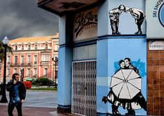 Just as street art livens up urban landscapes, A.L. Creg livens up street art. The Spanish photographer and motion designer transforms the still images that decorate cities into playful animated GI...