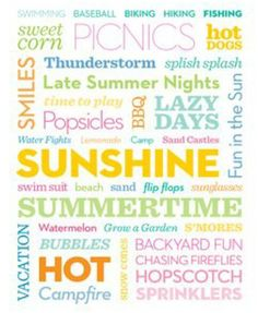 All the reasons to love summer!