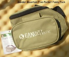 Gander Mountain Five-Pocket Fanny Pack