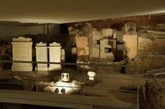 Necropolis via Triumphalis – Necropolis Vaticano Le Vatican, Painting, Catacombs, Cemetery, Museums, Rome, Italia, Painting Art, Paintings