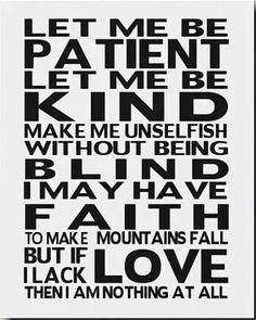 Faith to make mountains fall