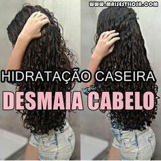 DESMAIA CABELO: Hidratação Caseira PODEROSA que vai SALVAR o seu cabelo.