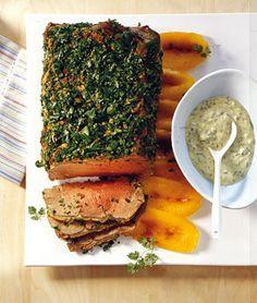 Living At Home Rezepte nussbraten mit ofengemüse recipe vegans food and veggie