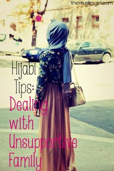 Dealing with unsupportive family in the face of wearing hijab can quite difficult. But it's not impossible! Have patience and faith in Allah.