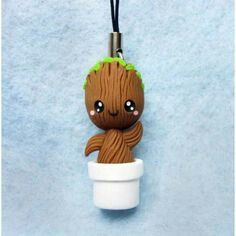 Baby Groot (GOTG) biscuit/cold porcelain
