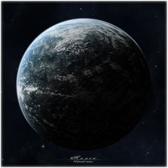 Naxia - planet resource by Mr-Frenzy on DeviantArt Dark Planet, Super Earth, Space Pics, Planet Design, Planets And Moons, Alien Planet, Alien Worlds, Science Fiction Art, Fantasy World