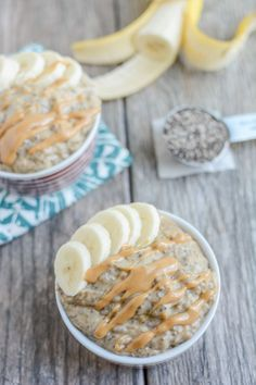 This Peanut Butter Banana Chia Pudding makes an easy, kid-friendly snack. It's packed with protein and healthy fats and is easy to prep ahead of time.