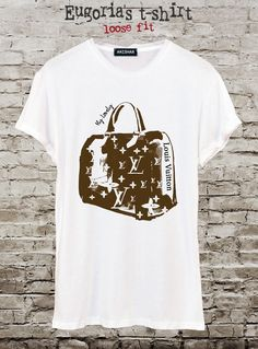 Fashion bag LV t-shirt, pop art t-shirt, design tshirt, handmade t-shirt, custom t-shirt