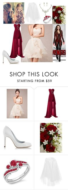 """""""Scarlet Witches Wedding"""" by blackest-raven ❤ liked on Polyvore featuring Nobella, Pedro García and Rime Arodaky"""