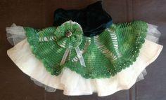 Vintage Lace Doilie Skirt 1188 - Tittle + Tat. doiley, steampunk, little girl skirt, party skirt,