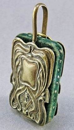 Antique Chatelaine Pincushion - Art Nouveau.