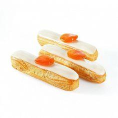 Eclairs Vanille - Abricot (pour environ 15 éclairs de 14 cm) - Recette…