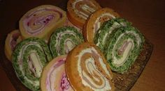 Salt roll with ham and cheese Chutney, Good Food, Yummy Food, Cooking Recipes, Healthy Recipes, Ham And Cheese, Appetizer Dips, Food Art, Food And Drink