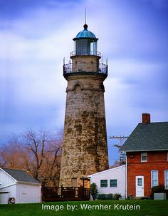 Fairport Harbor Lighthouse, Ohio. Shared via flickr.com photo credit to Wernher Krutein.