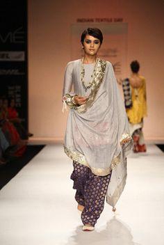 """punjabisuits: """" Outfit by Payal Singhal. """" Punjabi Fashion Blog"""