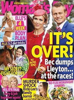 Woman's Day #magazines #November #2015 #Bec & Lleyton #Elle #Ricki-Lee