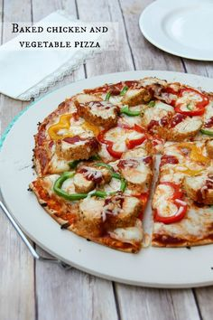 Recipe: Chicken and Vegetable Pizza