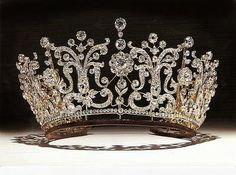 """From """"Tiaras"""" V&A exhibit, London"""
