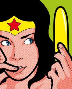 La vie secrète de Wonder woman-