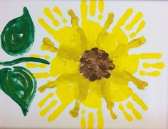 This handprint flower, made by CEF students, would make a great teacher gift! The handprints form the petals, while fingerprints form the center. For more information and CEF and the students it serves, visit www.cefks.org.