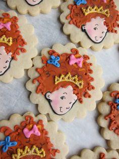 Fancy Nancy Sugar Cookies Party Favors by NotBettyCookies on Etsy