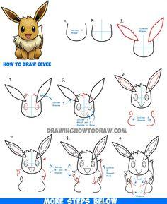 Dessin pokemon dessins enfants en 2018 pinterest - Apprendre a dessiner pokemon ...