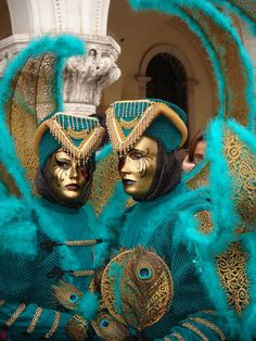 Masks in venice , province of Venezia , Veneto region Italy--I would SO love to attend one! #bucketlist