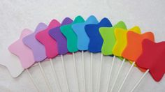 PARTY PACK Foam Wands by TeatotsPartyPlanning on Etsy