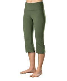 Look at this Stonewear Designs Kale Liberty Capri Pants on #zulily today!