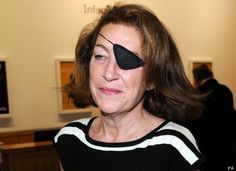 Marie Colvin - brave, tough, inspirational but still a real woman. RIP