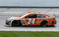 Jeff Gordon during the 2014 Sylvania 300 at New Hampshire Motor Speedway