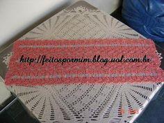 caminhos de mesa de croche com cachos de uvas - Pesquisa Google