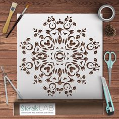 Use our amazing mandala stencil in your next DIY project! Create professional designs with our reusable stencils to transform your walls, fabrics, furniture, and even floors! 10% OFF FOR YOUR FIRST ORDER